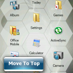 Windows mobile 6.5 screenshot