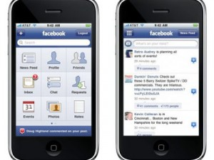 iphone-facebook-uygulamasi