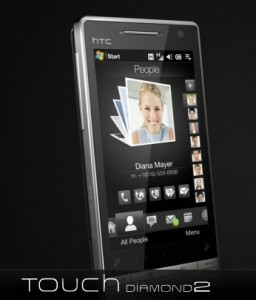 HTC Touch Diamond 2'yi de Vodafone Getiriyor