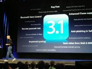 iphone os 3.1 apple itunes 9