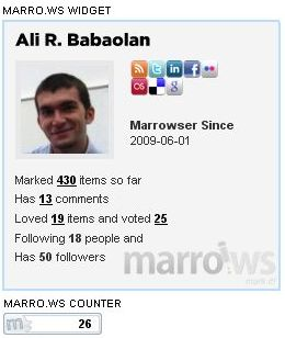 marrows ali babaoglan