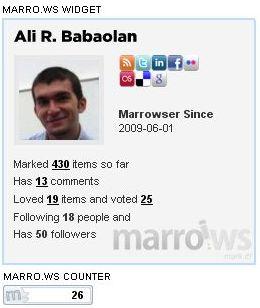 marrows ali babaoglan