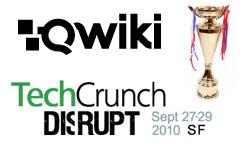 Qwiki TechCrunch Disrupt