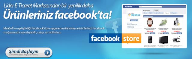 Ideasoft Facebook Store