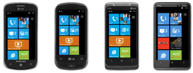 Windows Phone 7 SmartPhones