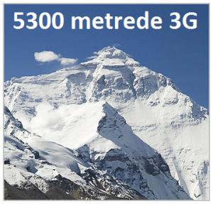 Everest Dağında 3G