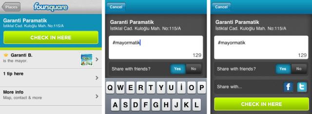 Garanti Mayormatik Foursquare