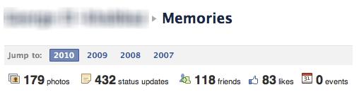 Facebook Memories(Hatıralar)