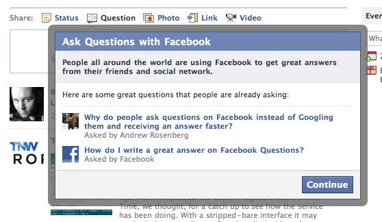 Facebook Questions(Sorular)