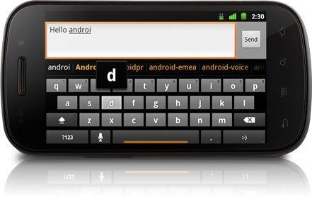 Nexus S Tuşlar