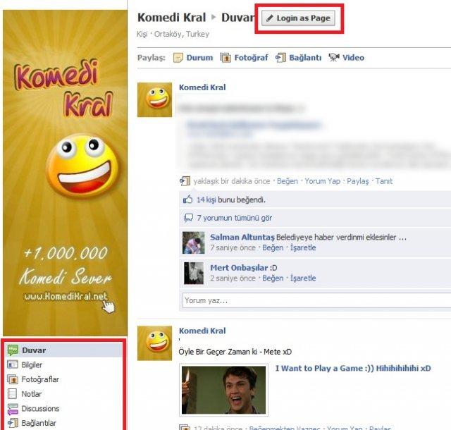 Yeni Facebook Sayfa Tasarımı
