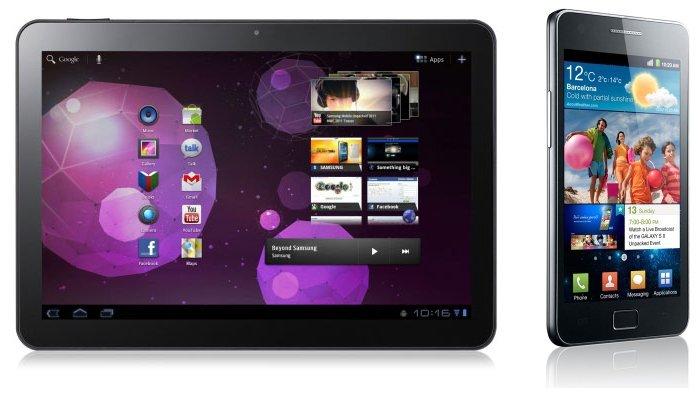 Samsung Galaxy Tab 2 - Samsung Galaxy S 2