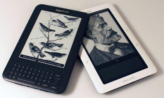 Amazon Kindle - Barnes&Noble NOOK