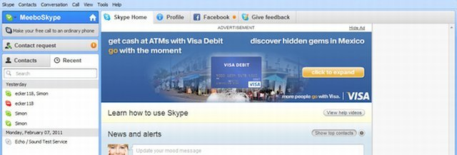 Skype Reklam