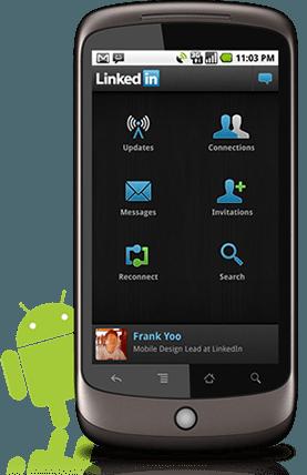 Linkedin Android Uygulaması