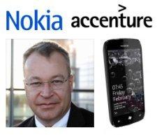 Nokia, Accenture, Elop