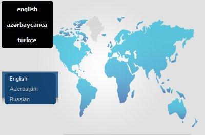 Azerbaycan'da Web Site Arayüz Dilleri