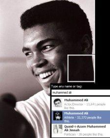 Muhammed Ali, Facebook
