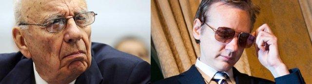Murdoch vs Assange
