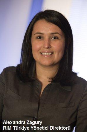 Research In Motion Türkiye Yönetici Direktörü Alexandra Zagury