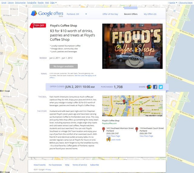 Google'ın İlk İndirimli Fırsatı