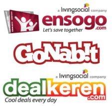 LivingSocial - Ensogo, GoNabit, DealKeren