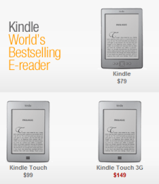 Kindle - Kindle Touch 3G