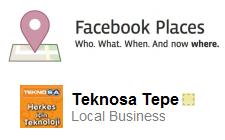 Facebook Yer Bildirim Fırsatları
