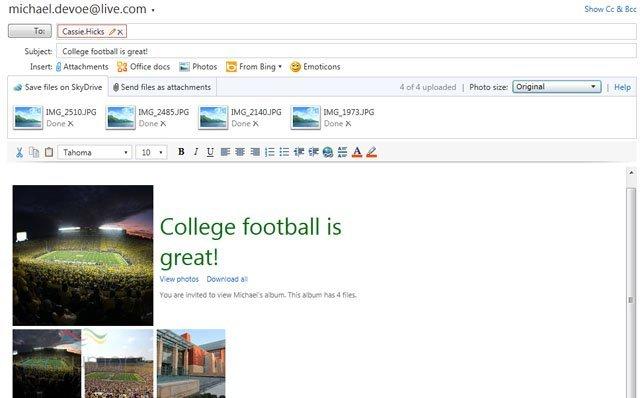 Yeni Hotmail Özellikleri