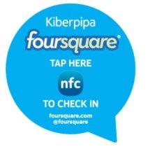 Nokia - NFC Foursquare