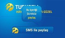 Turkcell - SMS ile paylaş