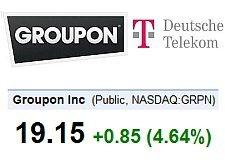 Groupon - Deutsche Telekom