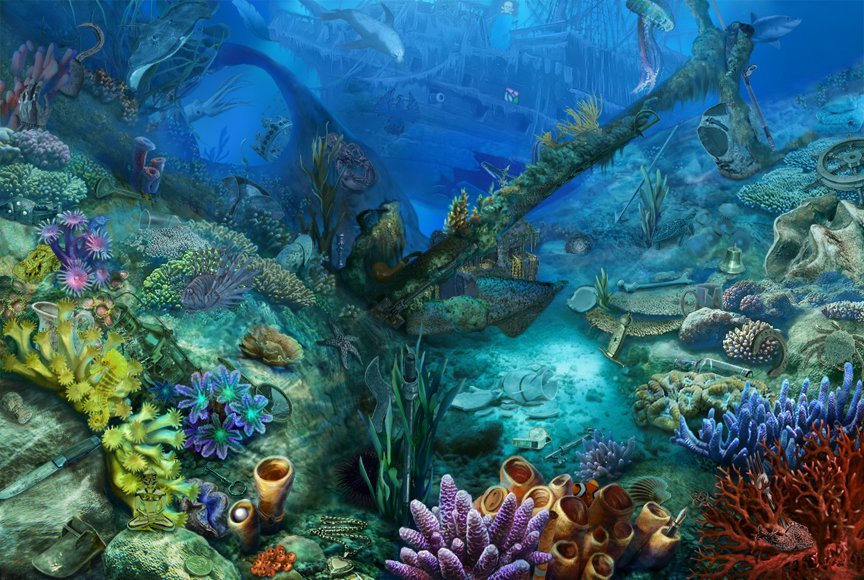 Hidden Chronicles_Scene_Underwater