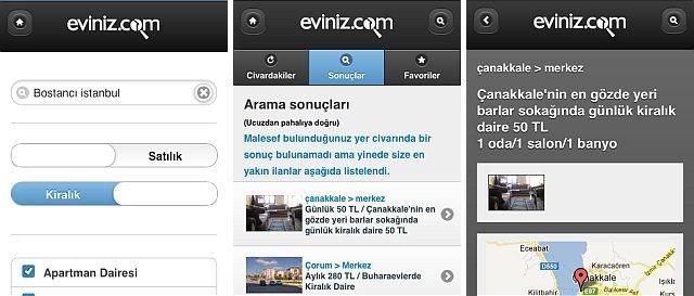Eviniz.com Mobil