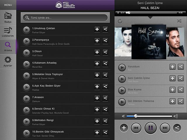 TTNet Müzik iPad