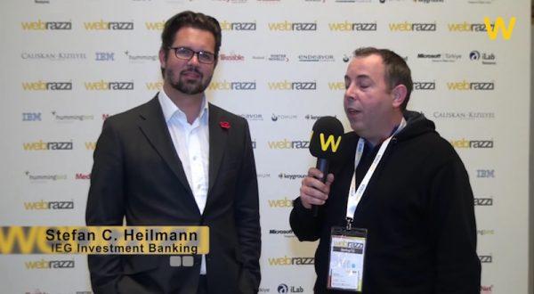 IEG yatırım bankası CEO'su Stefan Heilmann Blockchain Venture Summit'te