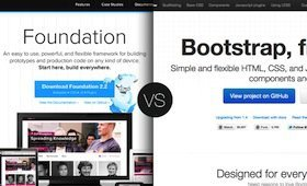 Twitter Bootstrap vs zurb foundation