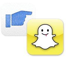 Facebook'un yeni uygulaması Poke, Snapchat'i rahatsız edemedi