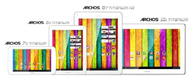 Archos Titanium Tablet