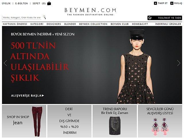 beymen.com luks eticaret