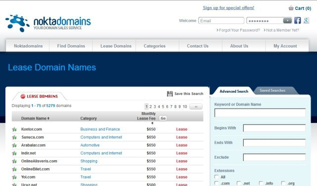 nokta domains kiralama