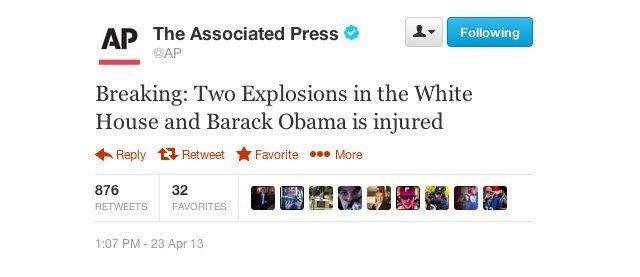 Sahte tweet borsayı vurdu, Twitter acil önlem peşinde