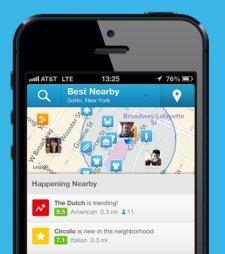 foursquare mobil uygulama