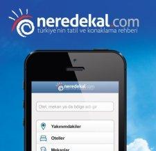 neredekal.com iphone android mobil uygulama