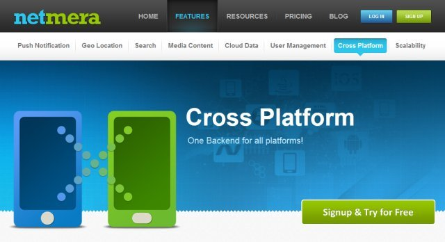 netmera cross platform mobile app development