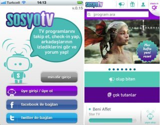 sosyo tv android iphone
