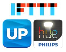 ifttt up hue apps