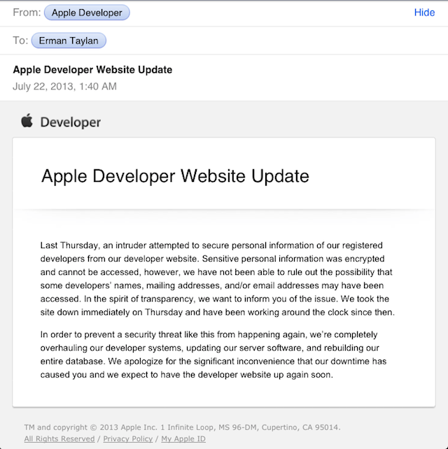 apple-dev-center-mail