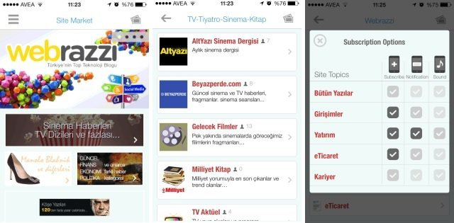 justmatic sosyal haber iphone uygulamasi