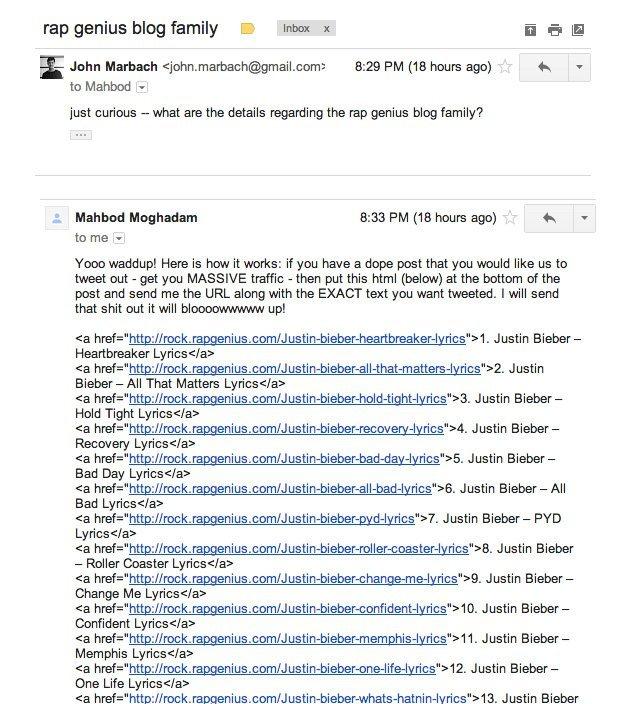 Google'ın cezalandırdığı sitelerin başına ne geliyor: Rap Genius olay incelemesi